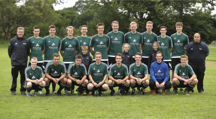 Foto :  Teamfoto Hörnerkirchen   Fussball Kreisliga Hamburg,   am So. 17.07.2016 SV Hörnerkirchen - TSV Horst © Claus Bergmann