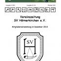 SV Hoeki Zeitung Nr. 18 - 2013 Oktober