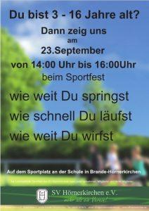 Sportfest 23.09.2017