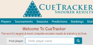Cuetracker.net, Ergebnisdienst